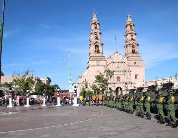 Conmemora Ejército Mexicano la gesta de los Niños Héroes