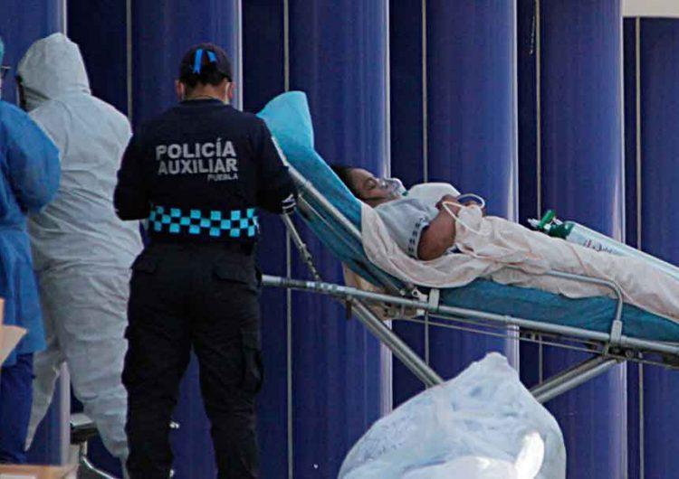 881 poblanos hospitalizados por Covid, de los cuales 233 están graves