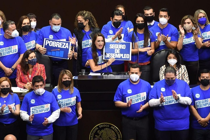 Propone Tere Jiménez seguro de desempleo en México