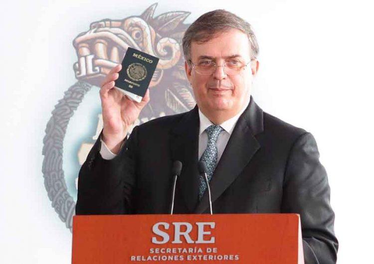 Cambios históricos en el pasaporte anuncia Ebrard desde Puebla