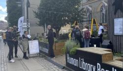 En la'Biblioteca Humana', se puede pedir 'prestada' a una persona…