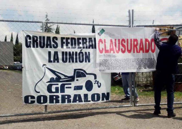 Clausuran corralones en 5 municipios de Puebla; operaban sin permisos