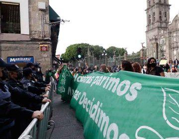 Colectivos: la decisión de la SCJN sobre despenalizar el aborto se debe acatar en Puebla