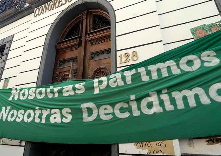PRI y Morena aseguran que decisión sobre el aborto en Puebla es cuestión de tiempo