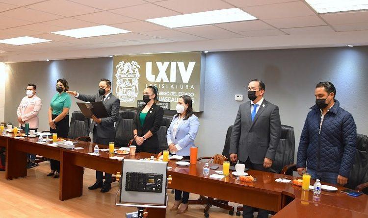 Se instaló la Comisión de Reglamentos y Prácticas Parlamentarias en el Congreso de Aguascalientes