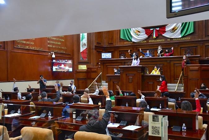Se instaló la Junta de Coordinación Política en el Congreso de Aguascalientes