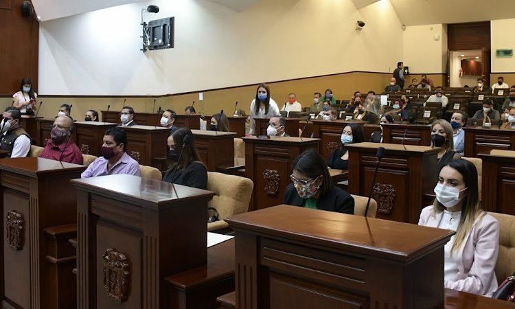 Definen mesa directiva para toma de protesta de la LXV Legislatura en Aguascalientes