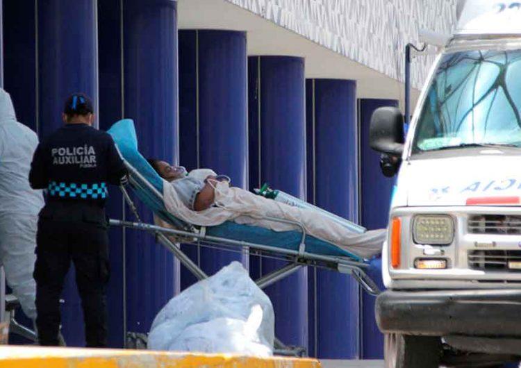 En Puebla hay mil 020 hospitalizados Covid, 178 están graves