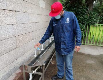 Supervisa municipio de Aguascalientes servicio de agua potable en escuelas
