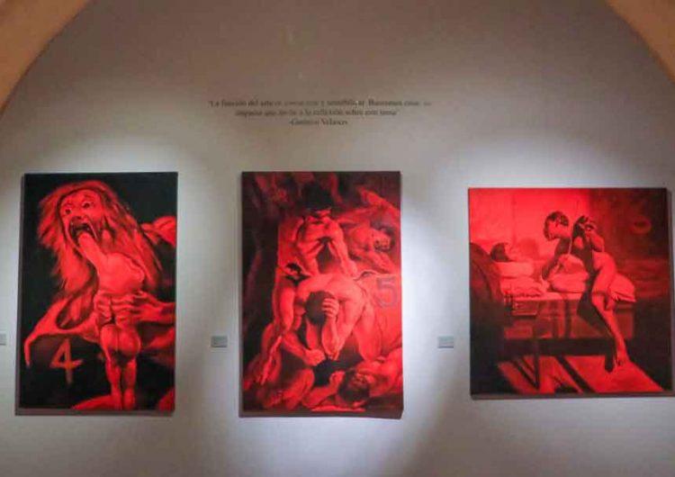 """Inaugura Secretaría de Cultura de Puebla exposición """"Los 43 y el dolor a través del arte"""""""