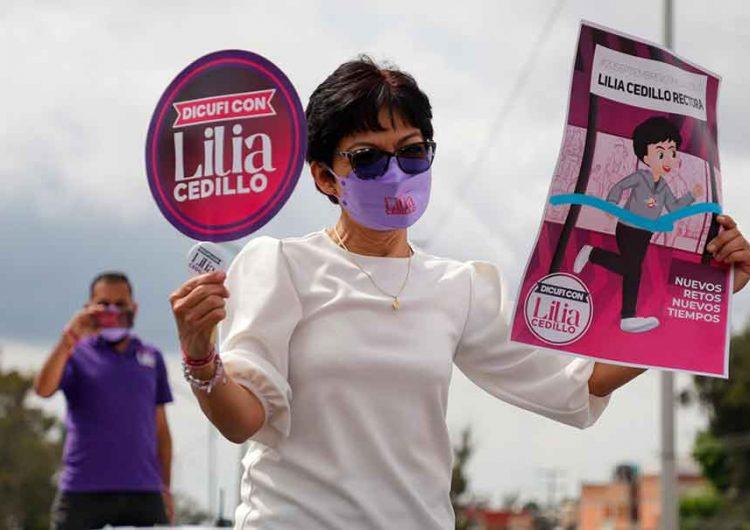 Lilia Cedillo arrasa elección y gana rectoría de la BUAP