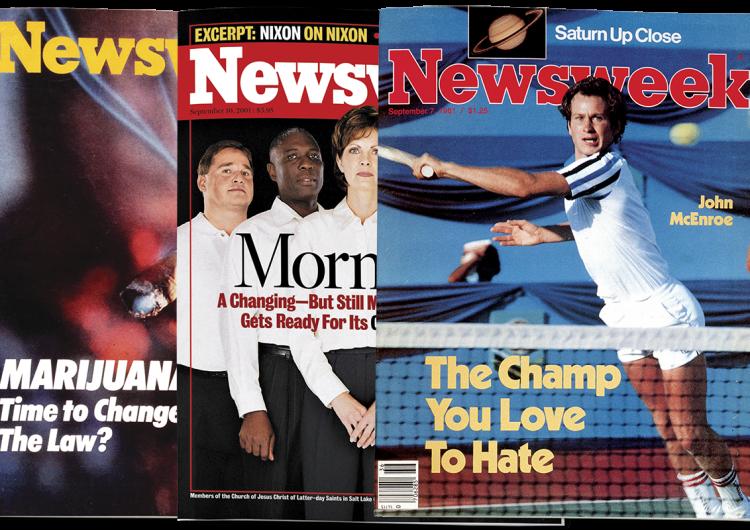 Mormones, marihuana, McEnroe… en los archivos de Newsweek
