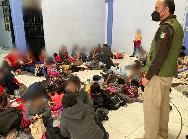 Hay 46 menores de edad no acompañados entre migrantes asegurados en Aguascalientes