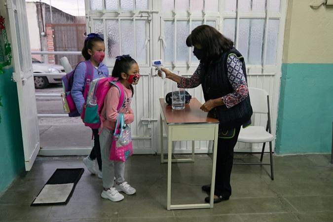 Supervisa Guardia Sanitaria protocolos sanitarios en escuelas de Aguascalientes