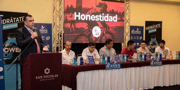"""Iniciará el tour ciclista """"La vuelta por la 4T en Ensenada"""", recorrerá todo el país."""