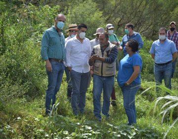 Recorren alcalde Jesús María y electo de Aguascalientes el Río San Pedro