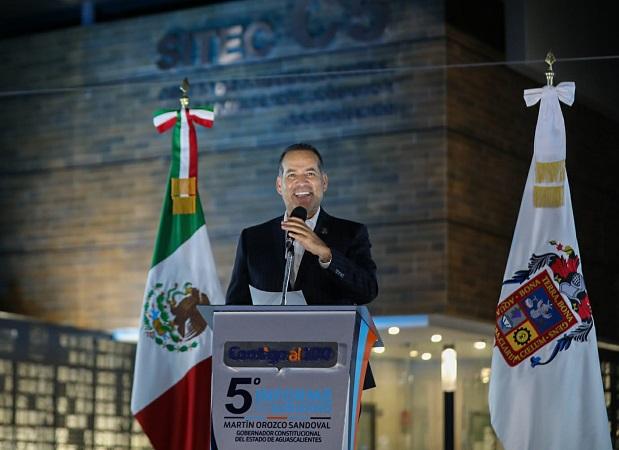 Rinde Martín Orozco informe en materia de seguridad pública