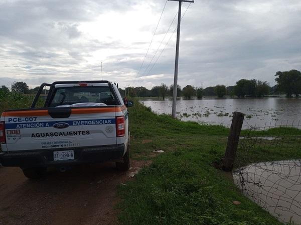 Monitorea Protección Civil Estatal nivel de agua del río San Pedro