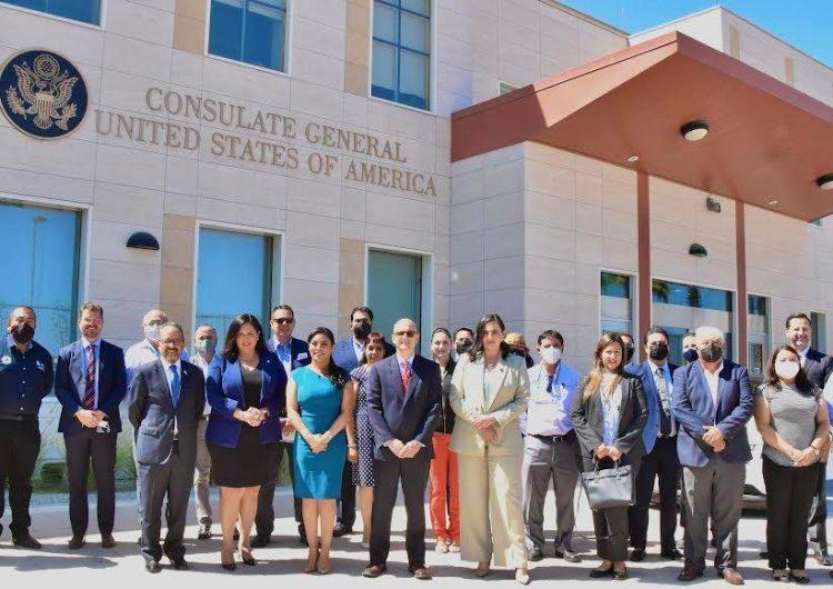Inauguran estación de monitoreo de aire en Consulado de EU