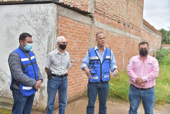 Continúa municipio de Jesús María con entrega de obras pluviales