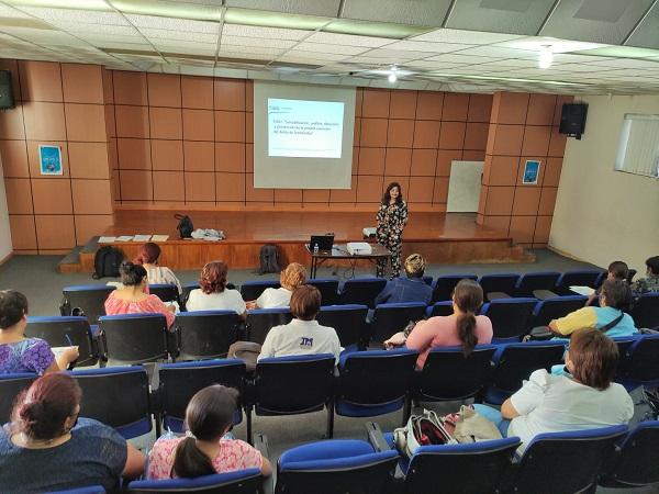 Imparten taller de prevención del feminicidio en Jesús María