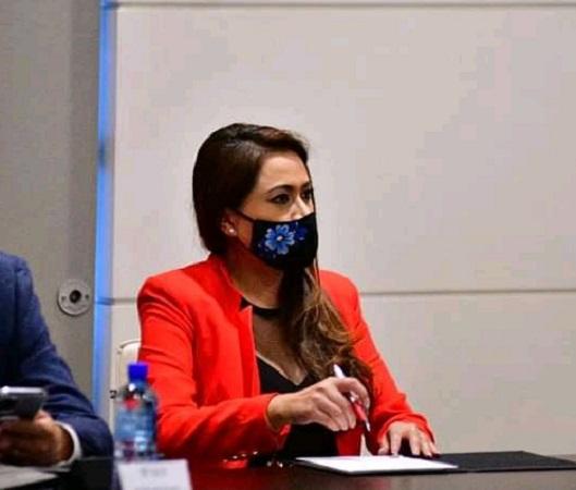 Pide Tere Jiménez elección interna para elegir candidatura a la gubernatura de Aguascalientes