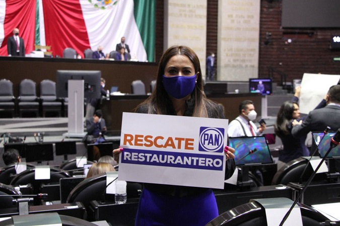 Impulsa Tere Jiménez iniciativa para otorgar estímulos a la industria restaurantera