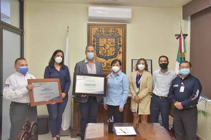 Certifican al municipio de Jesús María como promotor de la salud