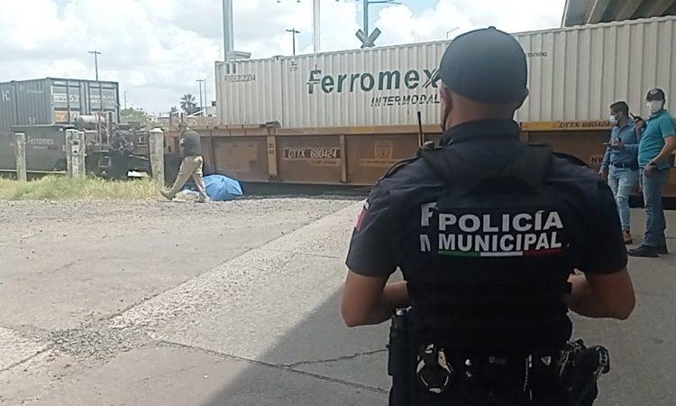 Muere mujer de 71 años arrollada por el tren en Aguascalientes