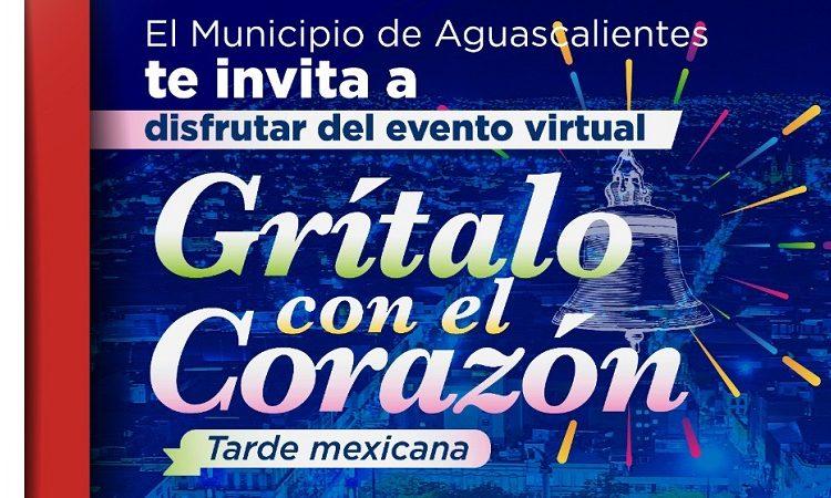 Celebrará municipio de Aguascalientes fiestas patrias con programa virtual