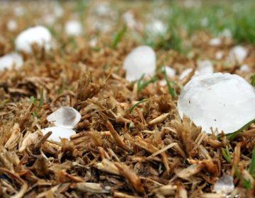 Se pronostican granizadas y lluvias fuertes para Aguascalientes este lunes