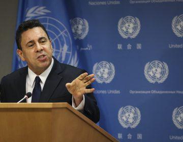 Embajador de Venezuela ante ONU denuncia presuntosescuadrones de la muerte comandados por militares en Colombia