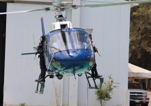 Presentan actividades de helicóptero estatal a embajada de Francia en México