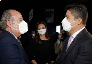 Calderón pidió desde Puebla la alianza PAN-PRI-PRD