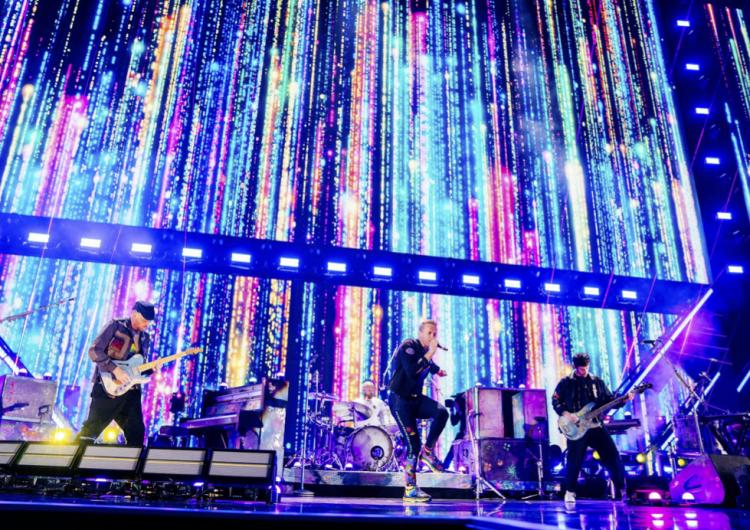 Así será la gira mundial ecorresponsable de Coldplay en 2022