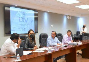 Presentó su plan de trabajo la Comisión de Desarrollo Urbano y Obra Pública del Congreso Estatal