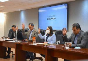 Presenta Comisión de Vigilancia su plan de trabajo
