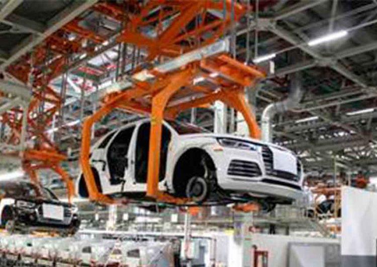Se cayó la producción y exportación automotriz de VW y Audi Puebla