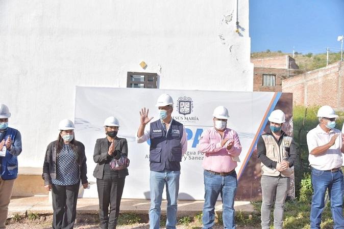 Inicia CAPAS obra de mejoramiento de la red hidráulica en Los Arquitos