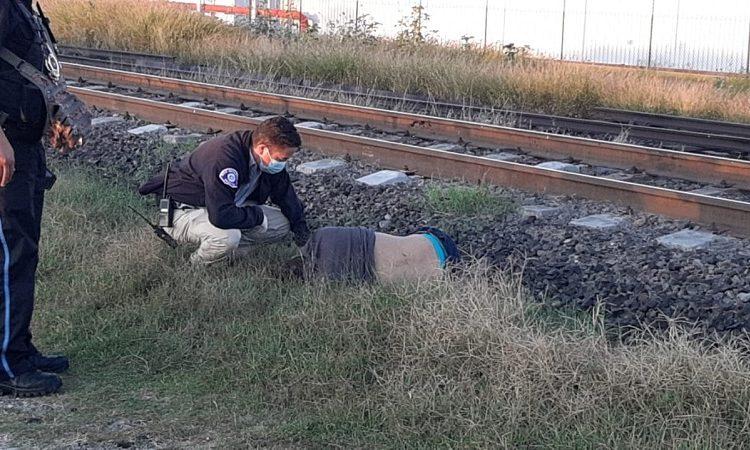 Hombre muere arrollado por el tren en Ciudad Industrial