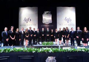 Celebran el 446 aniversario de la fundación de la ciudad de Aguascalientes