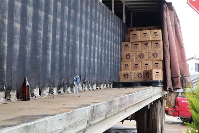 Desmantelan banda de roba trailers en Aguascalientes