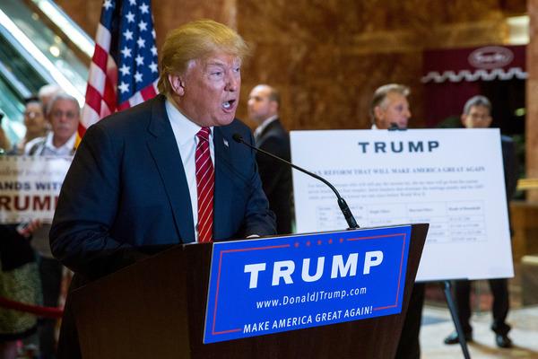 Trump revela plan fiscal que beneficia a sectores empresariales