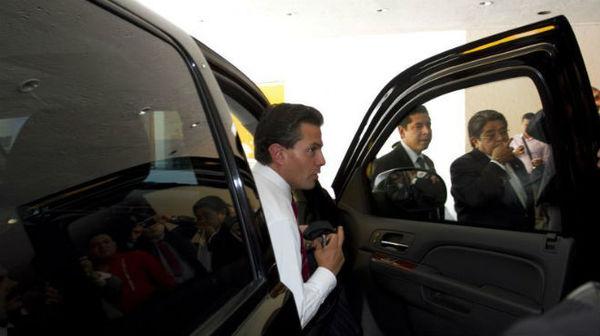 Gobierno de EPN gastó 800 mdp en blindaje de vehículos