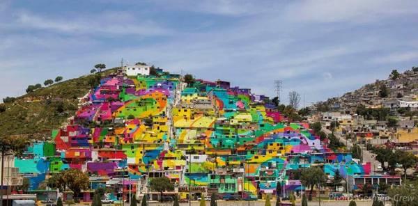 Sustituye obra en Palmitas al grafiti y la inseguridad