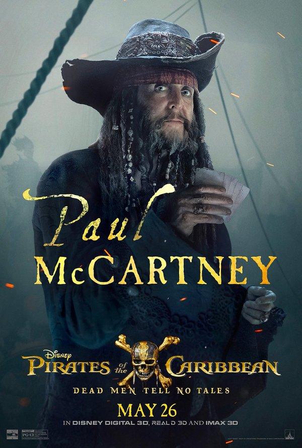 Paul McCartney se convierte en pirata para película