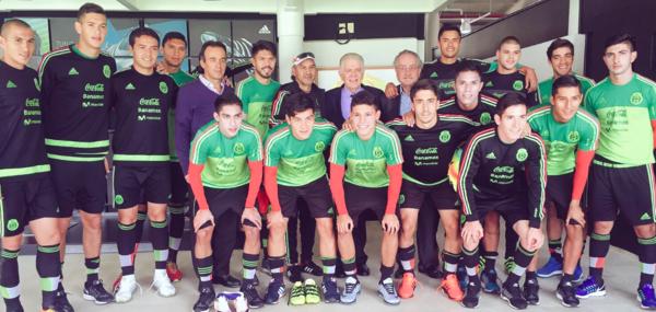 Futbolistas mexicanos ya tienen números para Río