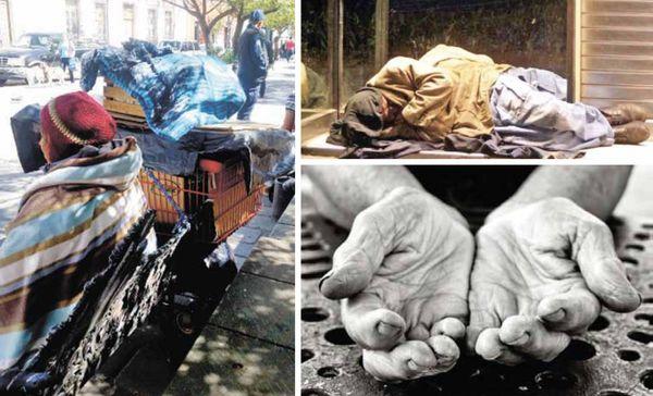 Llegó de la ciudad de México para trabajar y ahora vive en la calle