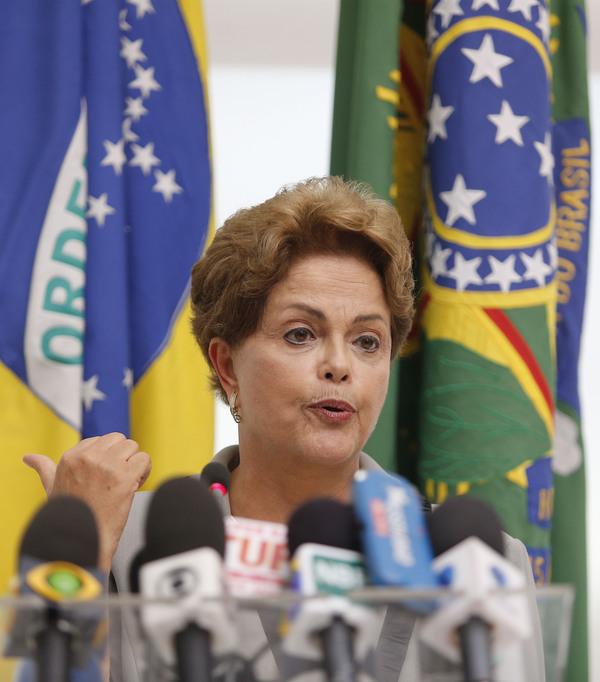 Rousseff anunciará medidas anticorrupción tras protestas