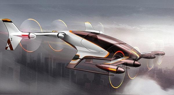 Uber contrata ingeniero de la NASA para desarrollar autos voladores